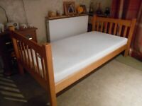 Single Bed and Mattress - - £35 - - -
