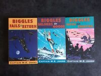 Fails to Return, Delivers the Goods, Defies the Swastika by Captain W E Jones, near mint paperbacks
