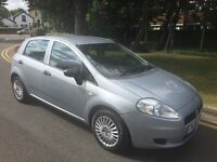 2007 NEW SHAPE FIAT GRANDE PUNTO DONE 81000 miles. 1.2 ENGINE, CAR IS IN EXCELLENT CONDITION