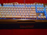Element Gaming Palladium Illuminated Keyboard