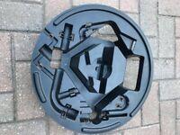 Alfa Romeo Guilietta spare wheel toolkit holder