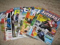 Around 30 Motorcycle Magazines