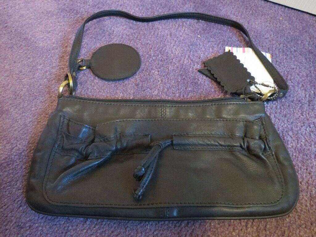 56e80b0db16b Brand New Faith Black Leather Handbag. Chatham ...