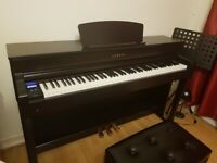 YAMAHA Clavinova CLP 635/Rosewood with warranty untill 2023