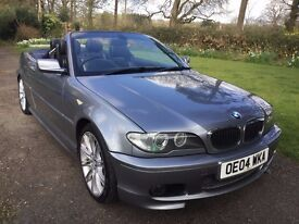 BMW 318CI SPORT CONVERTIBLE GREY 2.0 5 SPEED MANUAL