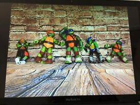 Turtle power! Action figures