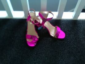 2 Pair brand new sandals size 6