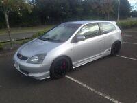 Honda Civic EP3 ( JDM EK EG EP Type r Turbo)