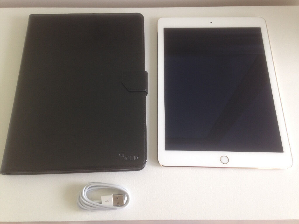 APPLE IPAD AIR 2 16GB, Wi FiCellular 9.7inRose Goldin Broxburn, West LothianGumtree - Apple iPad Air 2 16GB, Wi Fi & Cellular, 9.7in Rose Gold Apple iPad Air 2 in excellent condition and full working order, rose gold colour. Comes with charging cable and free case. Buyer to collect. No offers or swaps. First come first served