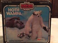 VINTAGE STAR WARS/EMPIRE STRIKES BACK/RETURN OF THE JEDI.WAMPA BOXED COMPLETE WITH INSERTS