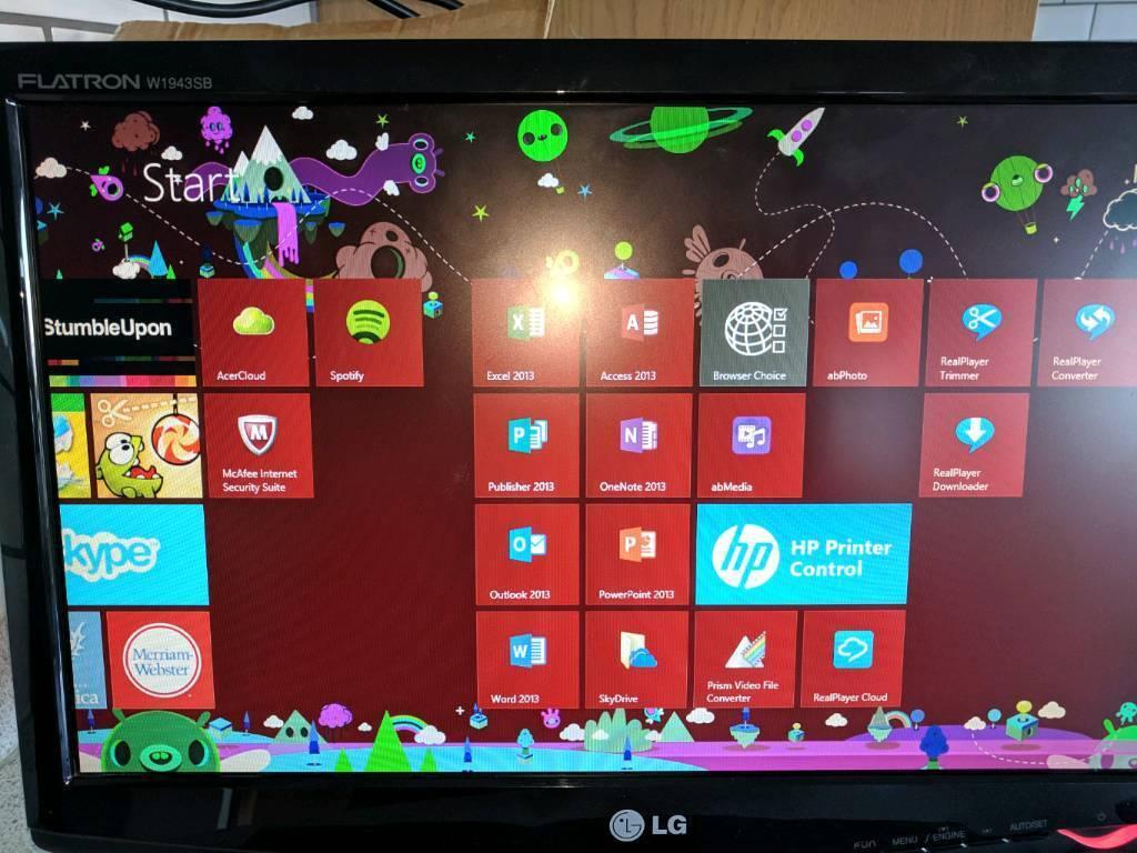 PC & Printer Bundle - Acer Desktop & HP Deskjet | in ...