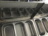 Bain Marie, wet food heating, serving and warming for commercial environments.