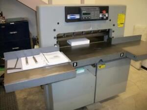 Challenge 305 paper cutter, Microcut
