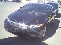 2012 Honda Civic EX **LOW KM** CERT & 3 YEARS WARRANTY INCLUDED*