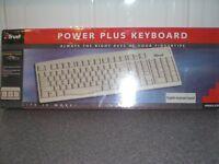 Trust. POWER PLUS KEYBOARD - New in factory sealed box