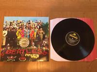 The Beatles sgt peppers lonely hearts club band vinyl