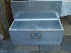 solid metal van guard storage box