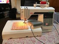 Elna Club 500 computerised Switzerland's sewing machine PRP £350 wow deal