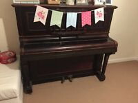 FREE - Beautiful, old style school piano. Stunning addition to any room.