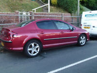 BRGAIN 2008 SPORT CAR PEUGEOT 407 AUTOMATIC NICE FAMILY CAR FOR SALE LONG MOT 2KEYS TINTED WINDOWS