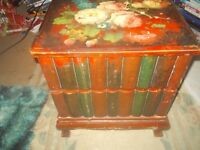 """NICE 2 DRAW BEDSIDE CABINET * CUPBOARD * TABLE * STORAGE 14"""" WIDE + 15"""" TALL ** CLACTON - CO15 6AJ"""