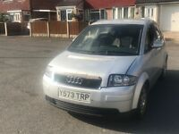 Audi A2 - Selling for Spares and Repairs