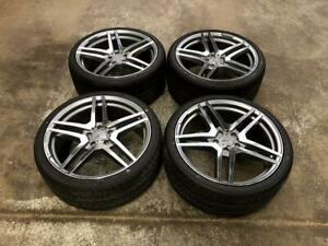 19 Mercedes Staggered Wheels 5x112 and Staggered Tires (Mercedes Cars) Calgary Alberta Preview