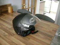 Motorcycle crash helmet, size L