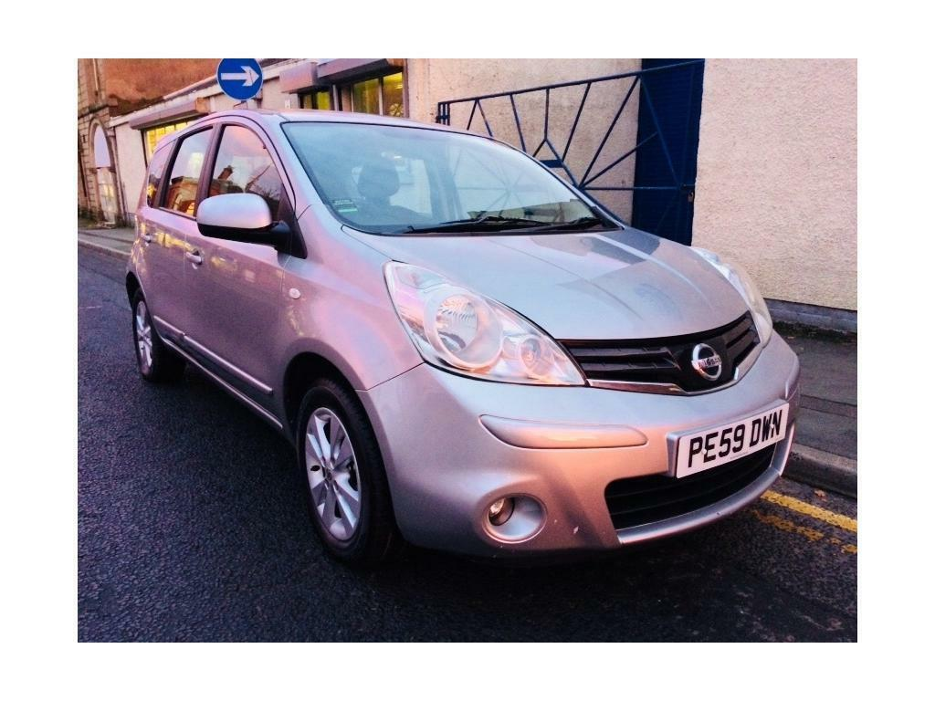 NISSAN NOTE 1.4 Acenta 5dr (silver) 2009