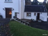 Nr. Stirling, two bed. self contained apartment in a charming country setting