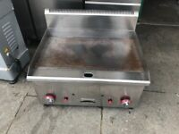 GAS FLAT GRILL CATERING COMMERCIAL KITCHEN FAST FOOD TAKE AWAY SHOP