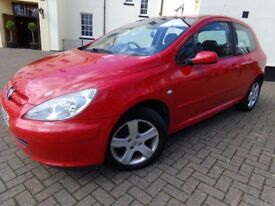 Peugeot 307 1.6 HDi S 3dr, 2005, 129000 miles.Very good condition. Long MOT.