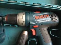 3 x Bosch drills professional 18 v