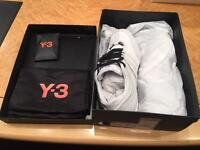 Y3 Trainers - new and boxed, size 10