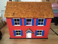 Hand Built Country Cottage Dolls House