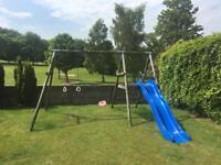 TP sherwood climbing frame & slide