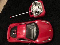 Ferrari remote control toy car