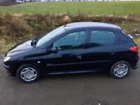 DIESEL CAR, Peugeot 206 Urban HDI 1.4, 71 000 MILES, £31.50 per YEAR TAX, Full Service History