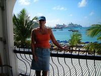 Female late 40's Mature seeking Mature 40 plus travel friend for week on beach Meet up Point is E11