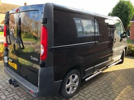 NO VAT RENAULT TRAFIC LWB 115 CREW CAB WITH EXTRAS
