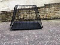 Used Medium Sloping Folding Dog Crate (cage)