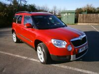 2011 SKODA YETI E TDI CR WITH NEW ALLOYS TIRES FULLY VALETED NEW MOT NO ADVISORIES