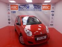 Suzuki Alto SZ3 (£0.00 ROAD TAX) FREE MOT'S AS LONG AS YOU OWN THE CAR!!! (red) 2012