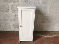 Bathroom cabinet / white cabinet / small cupboard