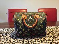 Speedy Black Louis Vuitton Bag