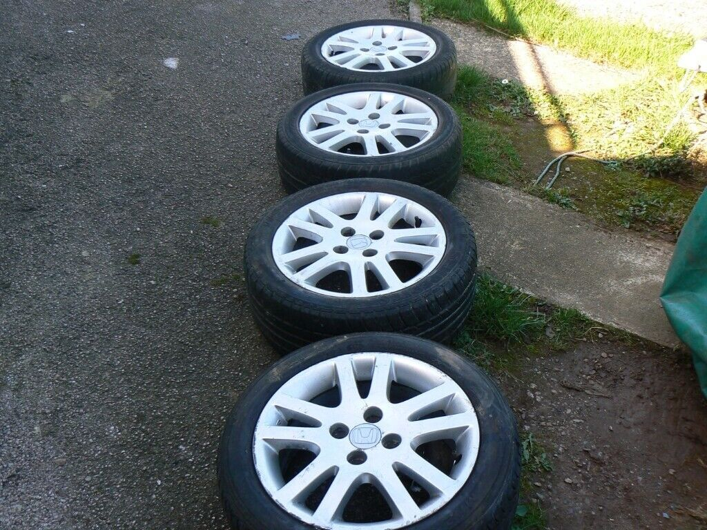 Honda Civic Jazz 4 Stud Alloy Wheels In Brixham Devon Gumtree