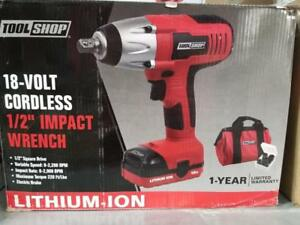 IMPACT WRENCH 18 VOLT 220 ft / lbs
