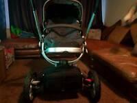 Quinny buzz pram & maxi cosi pebble car seat and extras