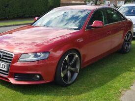 Audi a4 se . All the toys sat nav