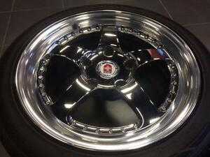 "HRE 17"" Porsche wheels w/Hankook Ventus tires 944 951 968 928 964 Carrera"